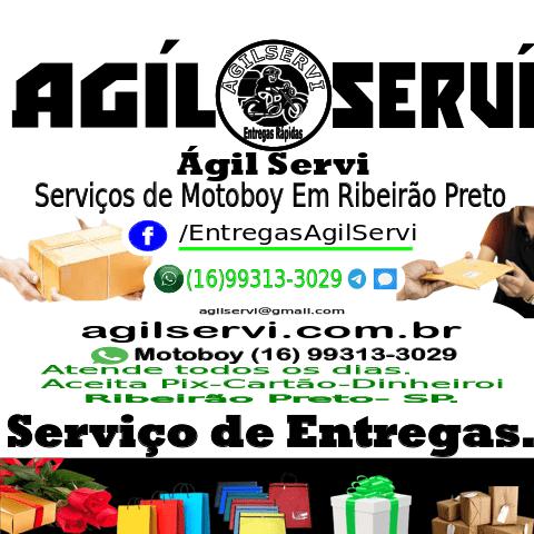 ÁgilServi Entregas – Empresa de entregas rápidas com Motoboy para Entregas.