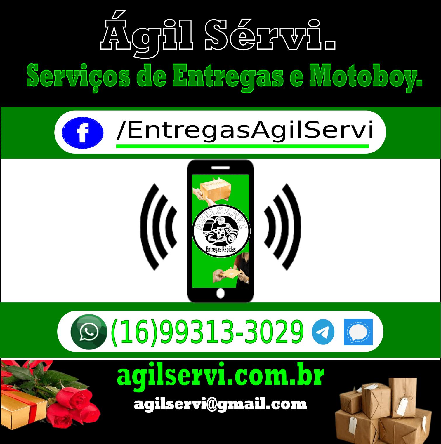 Ágil Servi categorias de entregas e serviços oferecidos pela Ágil Servi empresa de motoboy para entregas de documentos e encomendas.