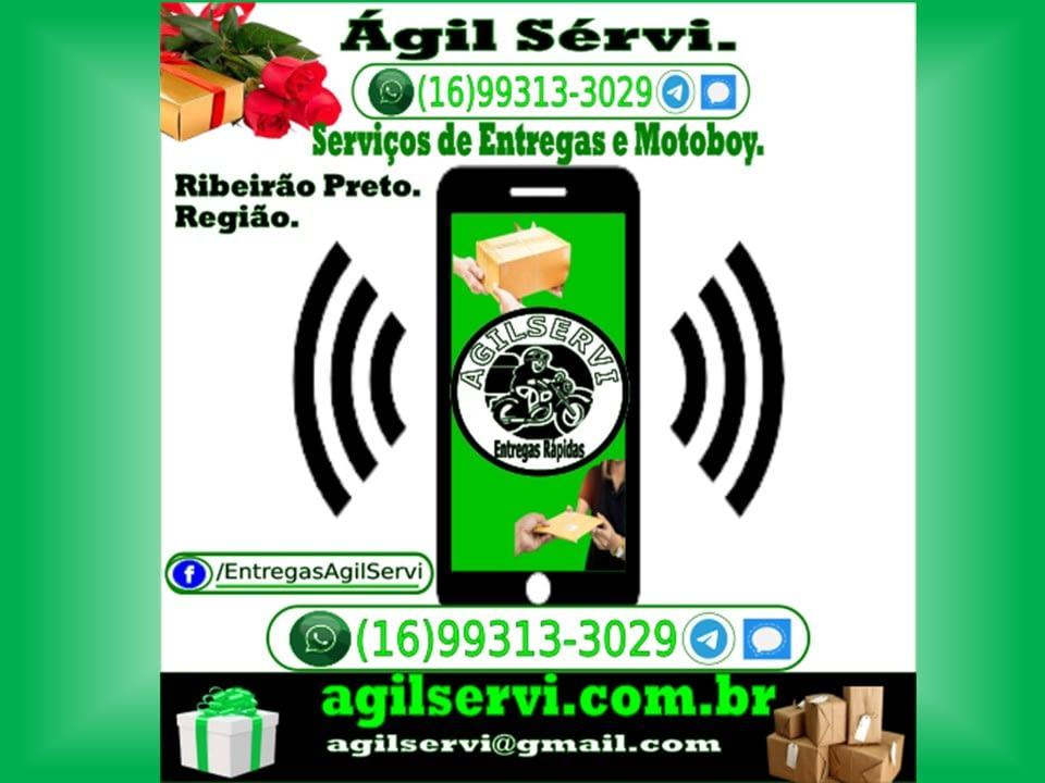 A Ágil Servi empresa de Entregas Rápidas é AgilServi Motoboy de serviços de motoboy para entregas de documentos e encomendas, as modalidade de entrega rápida da Ágil Servi são diferenciadas e diversificadas atendendo suas necessidades pessoais ou corporativas.